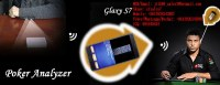 XF 2017 Galaxy Note7 PK King 708 analyseur de poker avec la plus nouvelle technologie