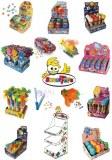 Gamme de bonbons halal avec jouets