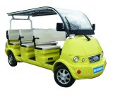 8 sets electric Sightseeing car with yellow color