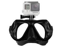 Masque de plongée mono-verre fixation pour GoPro