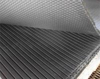 Stable rubber mat