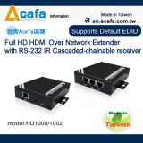 HDMI over IP Chainable 1000m Extender with splitter+converter+RS232-MIT