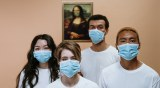 Masque Médicaux chirurgicaux de type IIR Bleu