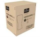 Verre en cristal 65cl - Fabriqué en Espagne - Emballage Retail