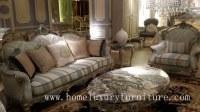 Ensembles de salon à la maison de meubles de salon de couleur d'argent de cadre en bois...
