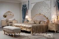 Le Roi Bed de chambres à coucher et conception royale moderne de raboteuses populaire...