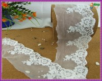 Hottest Crochet Wide Eco-Friendly Cotton Lace Bridal Lace HS040
