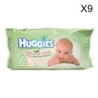Huggies lingettes bebe 56pc Natural Care