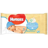Huggies Lingettes Bebe 56 pc. Pure