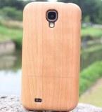 CHERRY Bois naturel Coque en bois véritable pour Samsung Galaxy S4 i9500