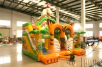 Hots sell inflatable bouncer slide combo / inflatable castle combo / inflatable castle