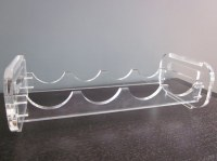 Custom made acrylicbottle shelf/Acrylicbottle holder