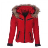 Angelina Red Textile Jacket USI-9601-C