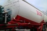 30 40 50 60 m3 Cbm poudre sèche en vrac de camion-citerne de ciment avec