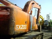 Used Hitachi Crawler Excavator EX200-2,19000usd