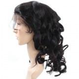 Malaysian Loose Wave Virgin Human Hair Full Lace Wig 1pc/Lot