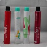 Hiqh quality aluminum hair color cream tube
