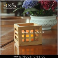 Vintage Bamboo Candle holder