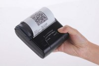 Lithium battery powered 80mm Portable Thermal Receipt Printer