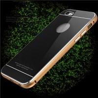 Housse de protection en verre tempéré Iphone 6 S Plus en aluminium