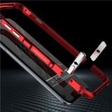 Iphone 6 S Plus Halberd Rotary Snap avec pare-chocs en aluminium à vis en aluminium