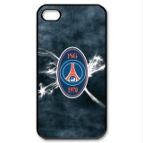 France football paris saint-germain logo sur iPhone 4/4s housse coque pare-chocs