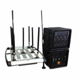 Portable Pelican Convoy 8 bands 510W RCIED Bomb Jammer up to 1km