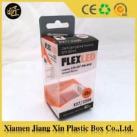 Plastique ampoules LED sur mesure emballage boîte constructeur
