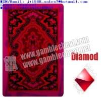 XF Gamble magique roi KEM Cartes de plastique pour les cartes marqués de rouge et blanc...