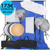 Kit studio photo LIVRAISON GRATUITE