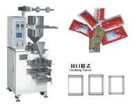 3-100ml sac,0-4 oz remplissage liquide gluant étanchéité machine à emballer pour le ketchup, sham...