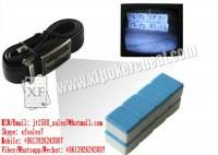 XF ceinture de cuir avec la caméra pour voir le mahjong marquée