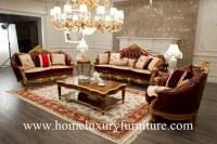 Sofa antique italien de meubles de sofa de sofa de salon de meubles de seater vivant en cuir de...