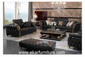 Canapé en cuir classique SetsTI-003