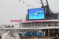 Tension locale de led afficheur de publicité, led écran P16 grand télévision