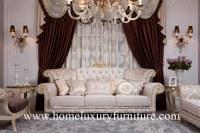 Style classique FF-102 de l'Italie de sofas de style d'antiquité des prix de sofa d'usi...