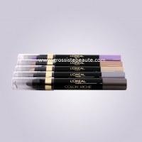 Lot crayons ombres à paupières nus de marque - 12 pièces