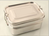 Stainless Steel Lunch box - 2-tier