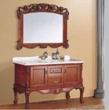 Antique Vanity massif salle de bain en bois