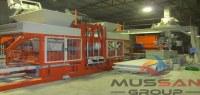 Machines de blocs béton machine pour la fabrication de parpaing, bordure et paves MG 12.2