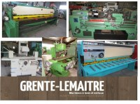 MACHINES A METAUX POUR EXPORT