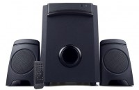 Bluetooth multimedia speaker with subwoofer