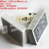XF New codes-barres marque de bord Côtés Poker Playing Cards Pour Analyzer Poker