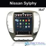 Écran vertical central multimédia Nissan Sylphy GPS Navigation usine
