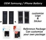 OEM batterie de samsung et l'iPhone