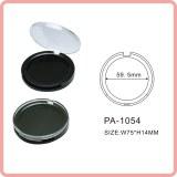 Poudre compacte forme ronde vide cas cosmetics packaging