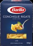 Palette Barilla Conchiglie Rigate
