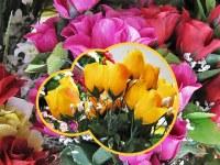Palettes Fleurs Artificielles