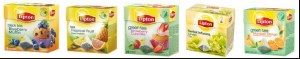Palette Lipton Pyramid Tea Raspberry Grenade