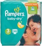 Pampers 30x baby dry N°3 (multi)